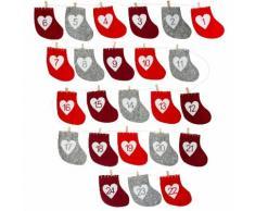 Adventskalender Socke