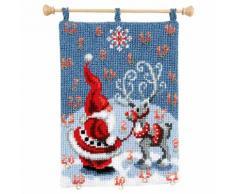 Adventskalender Weihnachtsmann/Rentier