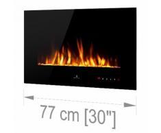 Noble Flame VEGAS Schwarz: 770 [Elektro Wandkamin]