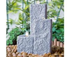 Brunnen-Set Neptun LED granit