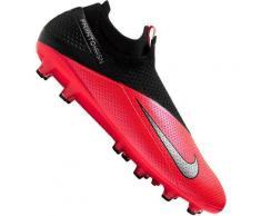 NIKE Fußball - Schuhe - Kunstrasen Phantom Vision II Neighbourhood Elite AG-Pro, Größe 44 ½ in Rot