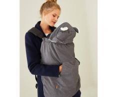 Wintercover für die Babytrage grau von vertbaudet