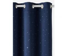 Verdunkelungsvorhang mit Leuchtmotiven blau Gr. 135x180 von vertbaudet