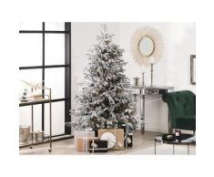 Weihnachtsbaum 180 cm Weiß Schneebedeckt mit Kunstschnee und Ständer Weihnachtszeit/ Weihnachten/ Wohnzimmer Modern
