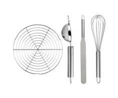 ERNESTO® Küchenhelfer, 4-teilig, zum Backen