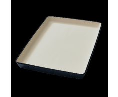 """Vorwerk Thermomix® Steingut-Form """"flache Backform Ben"""""""