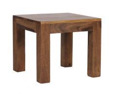 WOHNLING Sheesham MUMBAI Couchtisch Massiv 45 cm Massivholz Beistelltisch Tisch Neu