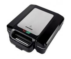 Muschel Sandwichmaker mit Keramikplatten Thermostat und Edelstahldekor Syntrox Germany