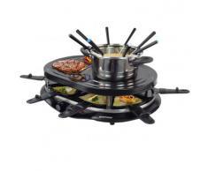 4 in 1 Raclette Grill Heißer Stein Fondue - Syntrox Germany -