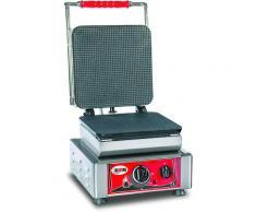 GMG - Waffeleisen Gelato - 1x (23 x 23cm) - Wechselbare Backplatte Sehr einfach Montage - 50° bis 300°C - Leichte Reinigung