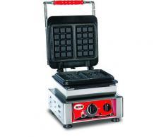 GMG - Waffeleisen Bruxelles - 2x (10,2 x 16,4 x 2,6cm) - Wechselbare Backplatte Sehr einfach Montage - 50° bis 300°C - Leichte Reinigung
