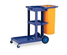 ulsonix Reinigungswagen - mit Wschesack