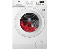 AEG L6FB45408 Waschmaschine Freistehend Frontlader 10 kg 1400 RPM D Weiß