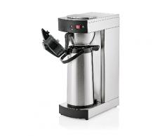 WAS Germany - Kaffeemaschine mit Pumpkanne, 2,2 ltr., 36 x 19,5 x 52,5 cm, Chromnickelstahl (2600220)