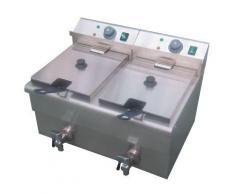 GGG Fritteuse, Elektro, 2x 12 Liter, 580x440x410mm