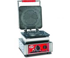 GMG - Waffeleisen Amore-M - 1x (Ø 17cm) - Wechselbare Backplatte Sehr einfach Montage - 50° bis 300°C - Leichte Reinigung
