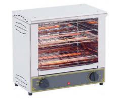 Sandwich-Toaster 1000 : 2x 345 x 245 mm