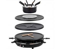 4 in 1 Raclette Waadt mit Fondue und Wechselplatten - Syntrox Germany -