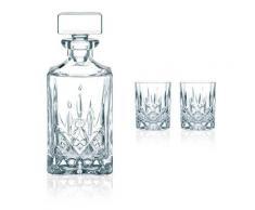 Nachtmann Noblesse Whisky Set 3-teilig - Karaffe mit 2 Tumbler