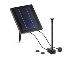 Uniprodo Solar-Springbrunnen - 250 l/h - LED