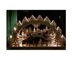 Lichterbogen-3-D ''Kinder im Schnee''