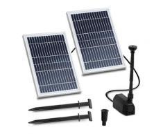 Uniprodo Solar-Springbrunnen - 1.350 l/h