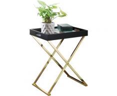 WOHNLING Beistelltisch TV-Tray Tabletttisch Ablagetisch Serviertablett Klappbar