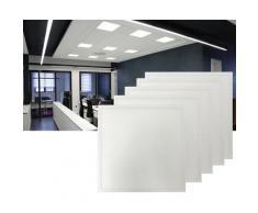 62 x 62 cm 40W LED Panel Einbaustrahler Spot Einbauleuchte Kaltweiß 6400K 3400lm Deckenleuchte Eckig