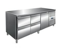 SARO 323 10718 Kühltisch inkl. 2 x 2er Schubladenset Modell KYLJA 3140 TN Küche