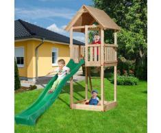 weka Tabaluga Drachenturm Spielturm mit Satteldach, ohne Rutsche