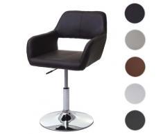 Esszimmerstuhl HWC-A50 III, Stuhl Küchenstuhl, Retro 50er Jahre, Kunstleder ~ Variantenangebot