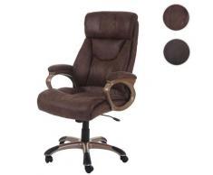 Bürostuhl Dallas, Schreibtischstuhl Drehstuhl Chefsessel ~ Variantenangebot