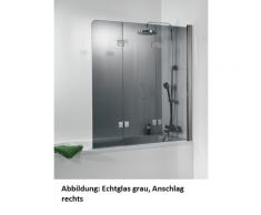 HSK Premium Softcube Badewannenaufsatz 3-teilig 6807114