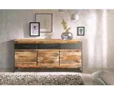 Sideboard Kommode Mangoholz massiv 170 x 85 x 40 cm ARTA 1