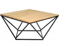 Design Couchtisch »Saskia« 75x75cm aus Wildeiche