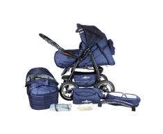 Bergsteiger 2-in-1 Kombi-Kinderwagen Rio (marine blue)