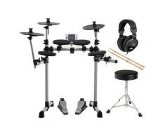 XDrum DD-400 E-Drum Kit SET mit Kopfhörer, Hocker und Sticks