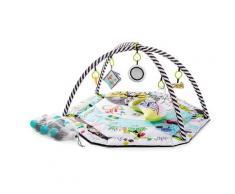 Kinderkraft Baby Spieldecke »Smartplay«, 6 farbenfrohe Wände, 7 Spielzeuge, Spielbögen