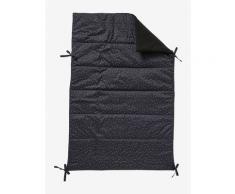 Wendbare Kinderwagen-Decke schwarz/dreiecke von vertbaudet