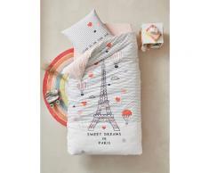 """""""Kinder Bettwäsche-Set ,,Regen in Paris"""" Oeko Tex® Gr. 140x150 - 63x63 von vertbaudet"""""""