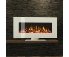 Noble Flame VEGAS Weiß [Elektro Standkamin]: 900