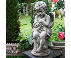 Gartenfigur Träumender Engel