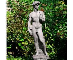 Gartenfigur Skulptur David