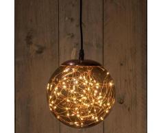 LED-Leuchtkugel Smokey, 80 LEDs, 18 cm