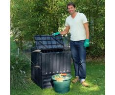 Komposter Eco-King, 400 l, schwarz