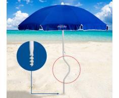 Strandschirm leicht patentierte Sonnenschirm Baumwolle GiraFacile 1...