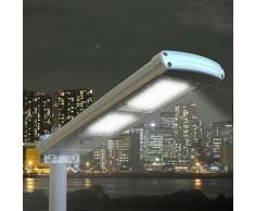 Solar Straßenlaterne Solarleuchte Straßenleuchte außen 48 SUPER LED...