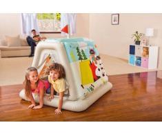 Intex 48634 Spielzelt aufblasbar Kinder Spielzueg Haus Garten