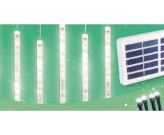 Solar Weihnachtsbeleuchtung außen 4 Eiszapfen