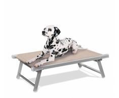 Hundeliege aus Aluminium Hundebett Körbchen für Tiere DOGGY